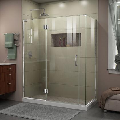 Unidoor X Shower Enclosure 24HP 30D 6IP 30RP 01