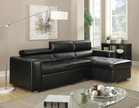 Acme Furniture 51640 Aidan Series Stationary Bonded Leather Sofa