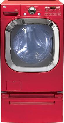 LG WM2601HR  4.5 cu. ft. Front Load Washer, in Red