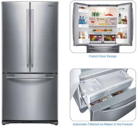 Samsung Appliance Rf217acpn 33 Inch French Door
