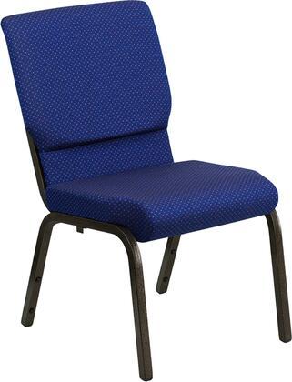 Flash Furniture XUCH60096NVYDOTGG Hercules Series Armless Fabric Metal Frame Accent Chair