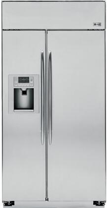 GE Profile PSB42YSXSS Profile Series Side by Side Refrigerator with 25.2 cu. ft. Capacity in Stainless Steel
