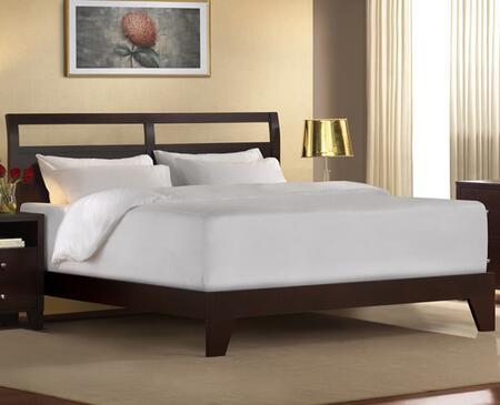 Lifestyle Solutions DMQCKBCPSET Signature Series  Californian King Size Platform Bed
