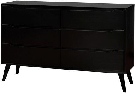 Furniture of America CM7386BKD Lennart II Series  Dresser