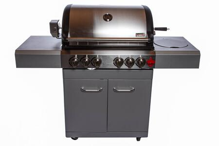 Swiss grills i500ts all refrigerator grill in stainless steel appliances connection - All stainless steel grill ...