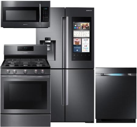 Samsung Appliance 754646 Black Stainless Steel Kitchen Appli