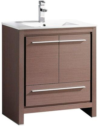 "Fresca FCB8130XXI Allier 30"" Modern Bathroom Cabinet w/ Sink in"