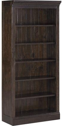 Milo Italia HM46425 Townser Series Wood 5-6 Shelves Bookcase