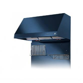 "Heartland 3420XX 42"" Wall Mount Range Hood with 900 CFM Inline Blower, 3 Speed, Heating Lamps and Automatic Shut-Off"