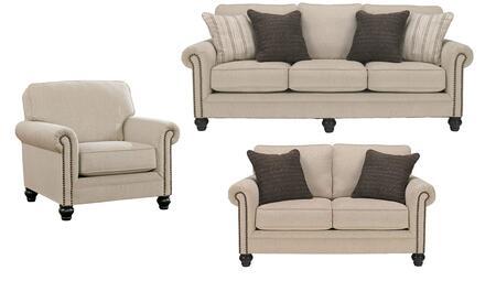 Milo Italia MI4861SLCLINE Elisabeth Living Room Sets