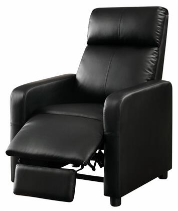 Coaster 600181 Recliners Series Contemporary Vinyl Wood Frame  Recliners