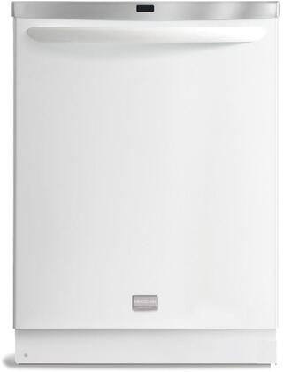 Frigidaire FGHD2461KW Gallery Series Built-In Fully Integrated Dishwasher with in White