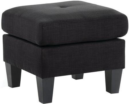 Glory Furniture G475O Transitional Fabric Ottoman