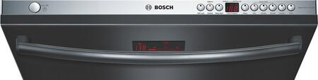 Bosch SHX68R56UC 800 Series Built-In Semi-Integrated Dishwasher