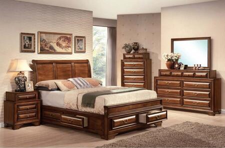 Acme Furniture 20450Q6PCSET Konane Queen Bedroom Sets
