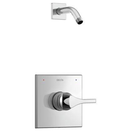 Zura T14274-LHD Delta Zura: Monitor 14 Series Shower Trim - Less Shower Head in Chrome