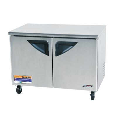 "Turbo Air TUF48SD 48.25""  Commercial Undercounter Freezer"