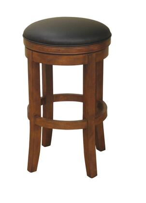 American Heritage 126774AML01 Winston Series Residential Leather Upholstered Bar Stool