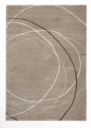 Citak Rugs 2600-050X Bellevue Collection - Eclipse - Chill Grey