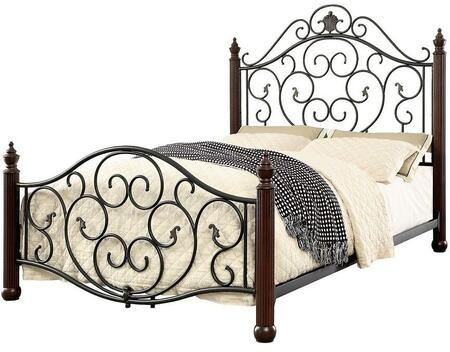 Furniture of America CM7688F Lucia Series  Full Size Bed