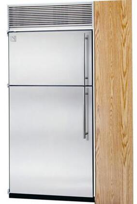Northland 36TFWSL Built In Counter Depth Top Freezer Refrigerator with 23.6 cu. ft. Total Capacity 8 Glass Shelves 7.3 cu. ft. Freezer Capacity