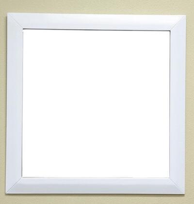 Bellaterra Home 203054MIRROR  Rectangular Portrait Bathroom Mirror