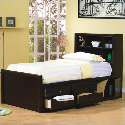 Coaster 400180T Phoenix Series  Twin Size Bookcase Bed