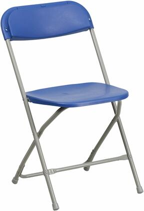 Flash Furniture BH-D0001-GG HERCULES Series 440 lb. Capacity Plastic Folding Chair with Seat Drain Holes