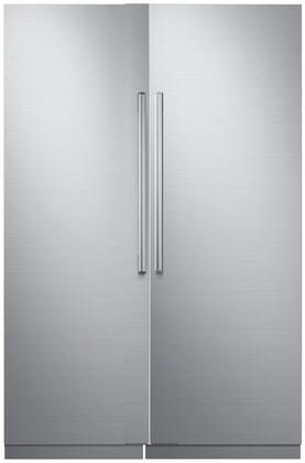 Dacor 871010 Modernist Side-By-Side Refrigerators