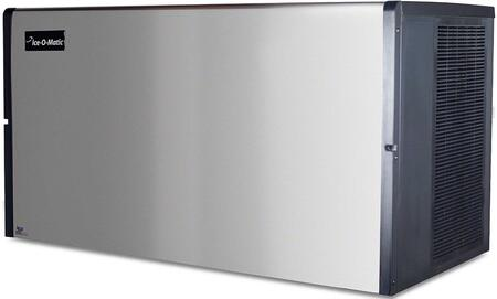 Ice-O-Matic ICE1407 ICE Series Modular  Cube Ice Machine with  Condensing Unit Harvest Assist, Superior Construction, Filter-Free Air & Cuber Evaporator in Durable Stainless Finish