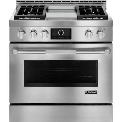 Jenn Air Deals Jgrp536wp 36 Inch Stainless Steel Gas Convection Freestanding Range