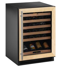 Picture of 2175WCCOL00 Wine Captain Wine Cooler with Capacity Up to 48 Bottles  Full Extension Slide Out Wine Racks  Adjustable OnOff Interior Light and Stable Storage
