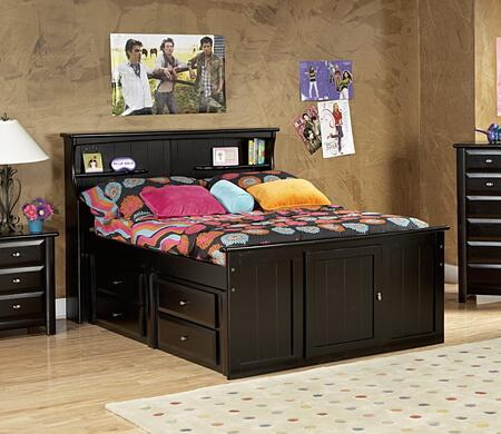 Chelsea Home Furniture 35345054509  Full Size Captains Bed