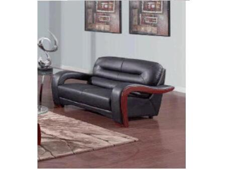 Global Furniture USA 992R2VBLL Ultra Bounded Leather  with Wood Frame Loveseat