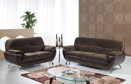 Global Furniture USA U4160CHAMPCHOCCHOCSL Living Room Sets