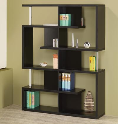 Coaster 800309 Bookcases Series  6 Shelves Bookcase