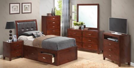 Glory Furniture G1200BTSBNTV G1200 Bedroom Sets