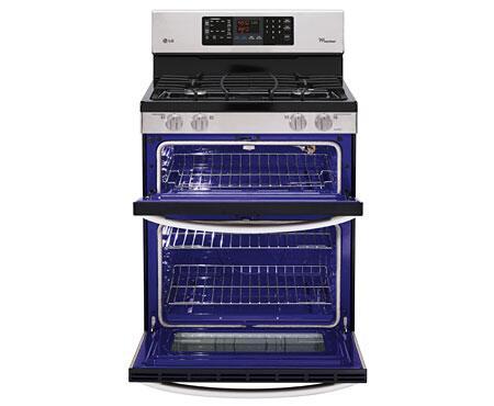 Lg Double Oven Freestanding Gas Range Lg Ldg3031st