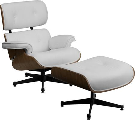 "Flash Furniture ZBPRESIDEOCH001OTTWHITEGG 33"" Contemporary Office Chair"