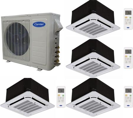 Carrier 701168 Performance Quad-Zone Mini Split Air Conditio