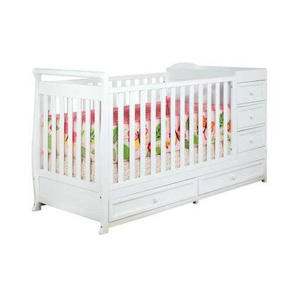 AFG 661 Athena Daphne 2-in-1 Crib and Changer Combo in