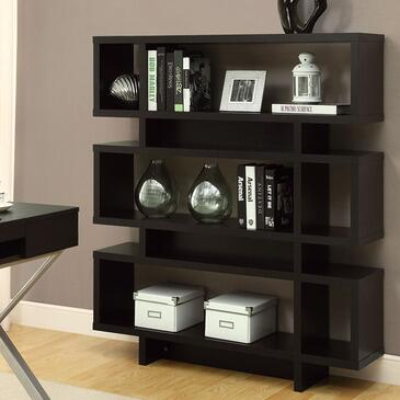 Monarch I2531  Wood 3 Shelves Bookcase