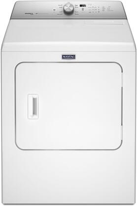"Maytag MXDB766FW 29"" Front Load Dryer with 7 cu. ft. Capacity, 9 Dry Cycles, Advanced Moisture Sensing and Lint Filter Indicator, in White"