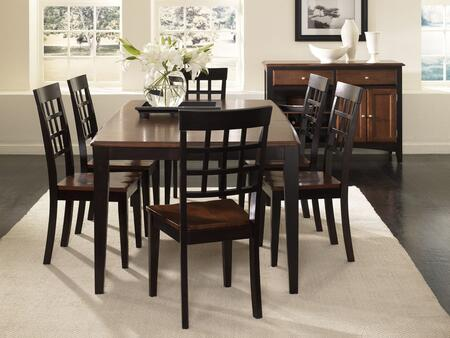 """AAmerica 6320 Bristol Point 42X60 Butterfly Leg Table with One 18"""" Leaf, Wood on Wood Glides and 20% NC Top Coat in"""