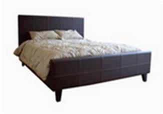Wholesale Interiors B22509BROWNQUEENSIZE  Queen Size Bed