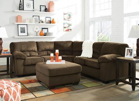 Milo Italia MI9695555608CHOC Jacqueline Living Room Sets