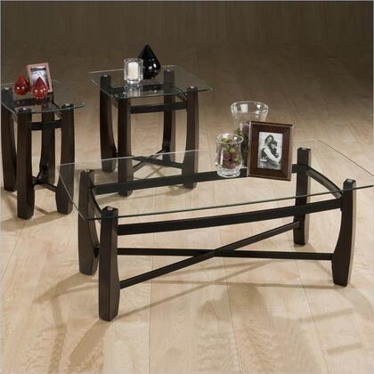 "Jofran 186 46"" Contemporary Living Room Table Set"