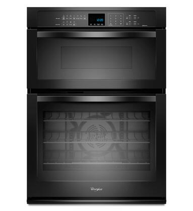 Whirlpool WOC95EC0AX 5.0 cu. ft. Single Electric Wall Oven with SelfClean, 1.4 cu. ft. Microwave Capacity, Rapid Preheat, Hidden Bake Element, Precision Cooking and AccuBake Temperature Management Systems in