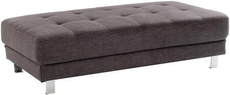 Glory Furniture G445O Milan Series Fabric Ottoman
