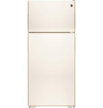 "GE GPE16DTHCC 28""  Bisque Refrigerator with 15.5 cu. ft. Capacity"